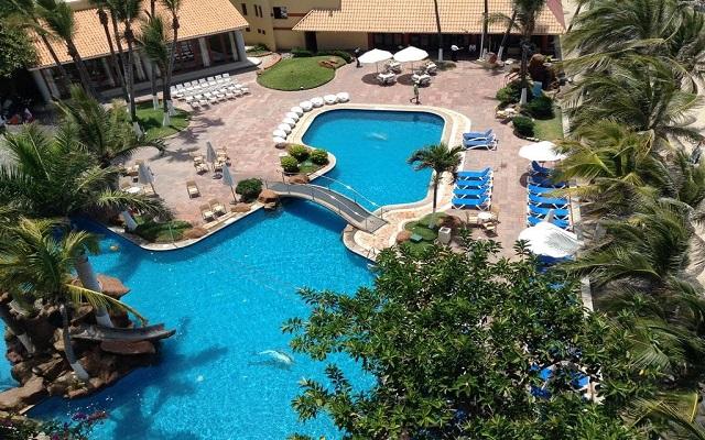 Hotel Luna Palace Mazatlán, vista aérea