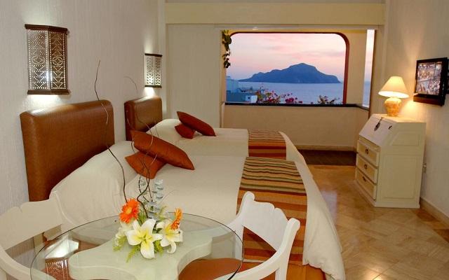 Hotel Luna Palace Mazatlán, habitaciones bien equipadas