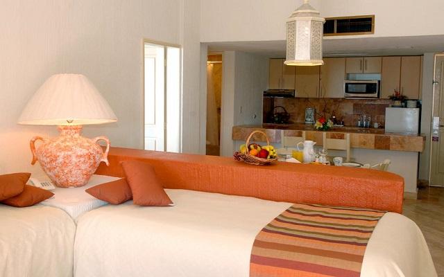 Hotel Luna Palace Mazatlán, habitaciones cómodas y acogedoras