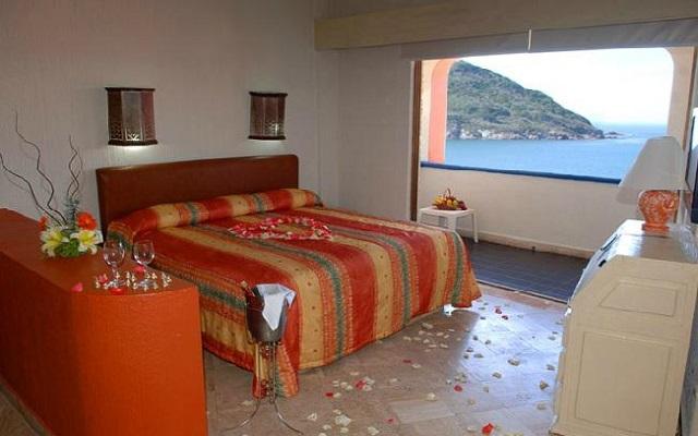 Hotel Luna Palace Mazatlán, amplias y luminosas habitaciones