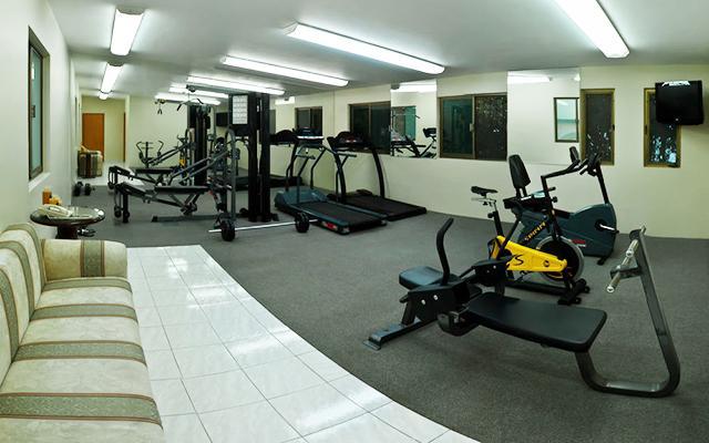 Hotel Malibú, gimnasio para uso exclusivo