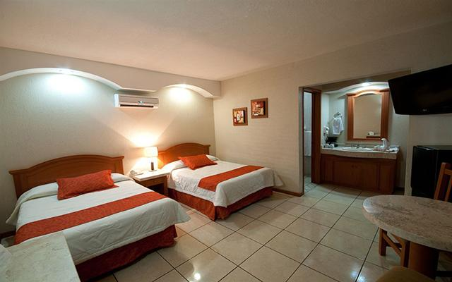 Hotel Malibú, habitaciones cómodas y acogedoras
