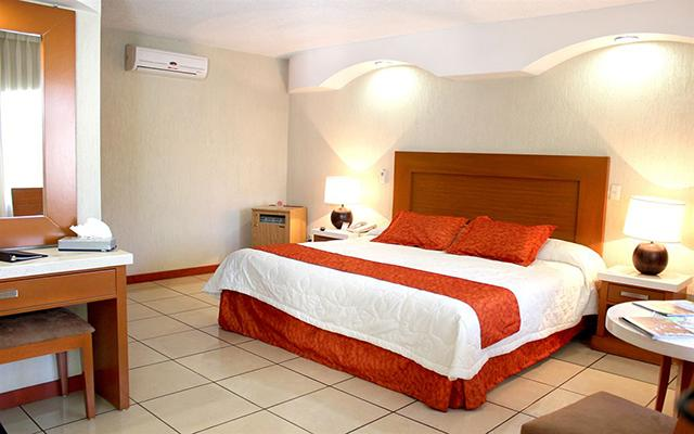 Hotel Malibú, habitaciones bien equipadas