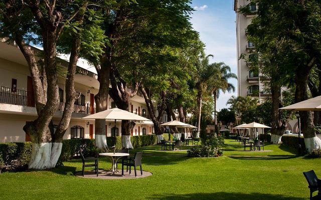 Hotel Malibú, rodeado hermosos jardines
