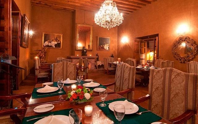 Hotel Mansión de los Sueños, escenario ideal para tus alimentos
