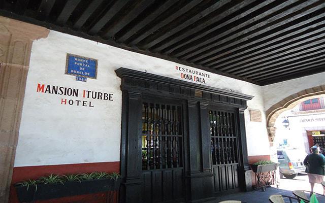 Hotel Mansión Iturbe, edificio del siglo XVII