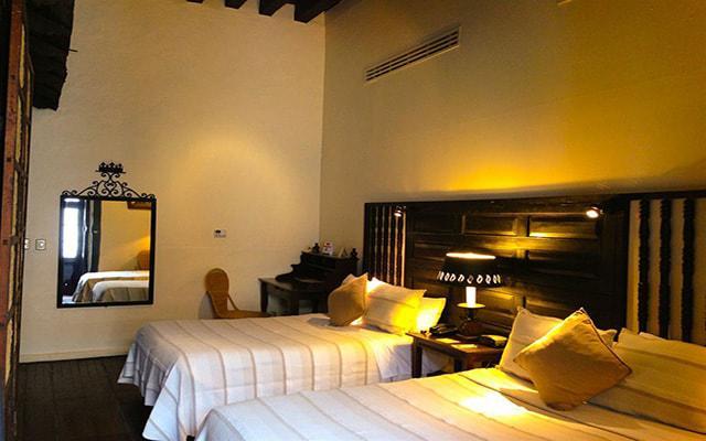 Hotel Mansión Iturbe, habitaciones bien equipadas