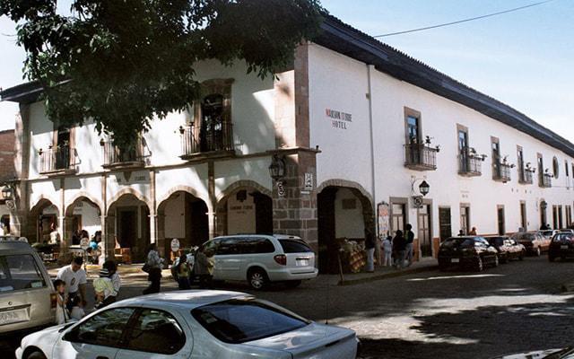 Hotel Mansión Iturbe en Pátzcuaro
