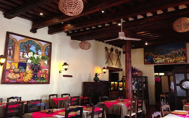 Hotel Mansión Iturbe, Restaurante Doña Paca