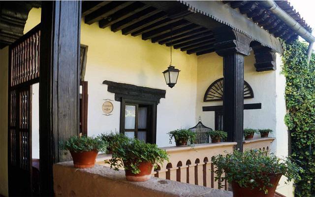 Hotel Mansión Iturbe, estilo colonial