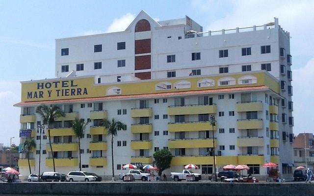 Hotel Mar y Tierra en Veracruz Puerto
