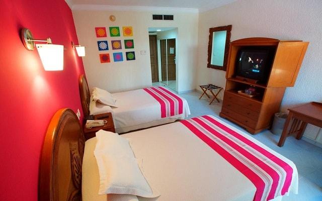 Hotel Margaritas Cancún, habitaciones bien equipadas