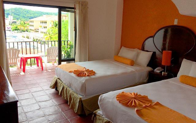 Hotel Marina Resort, habitaciones cómodas y acogedoras