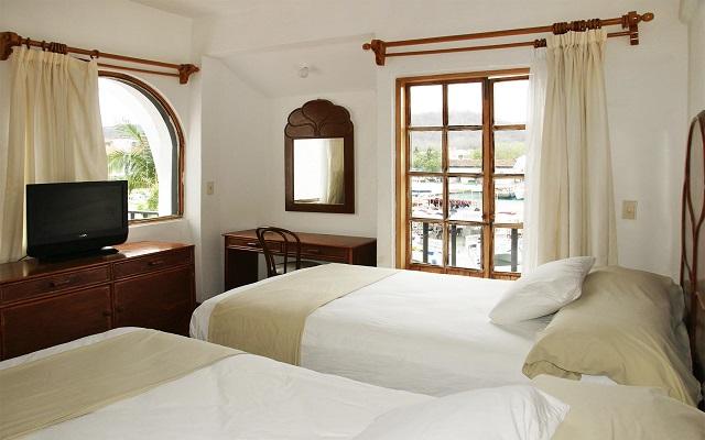 Hotel Marina Resort, amplias y luminosas habitaciones