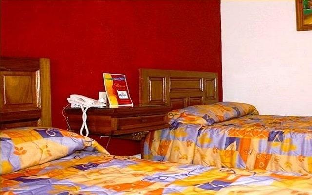 Hotel Marlyn, habitaciones bien equipadas
