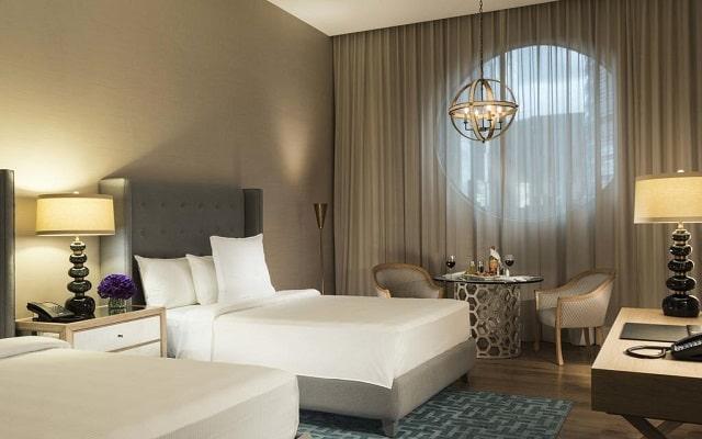 Hotel Marquis Reforma, habitaciones bien equipadas