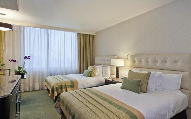 Hotel Marquis Reforma, habitaciones con todas las amenidades