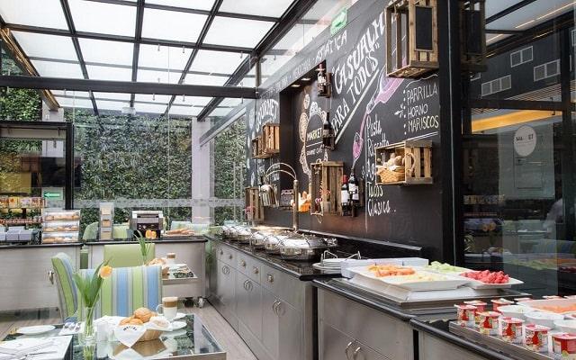Hotel Marquis Reforma, buena propuesta gastronómica