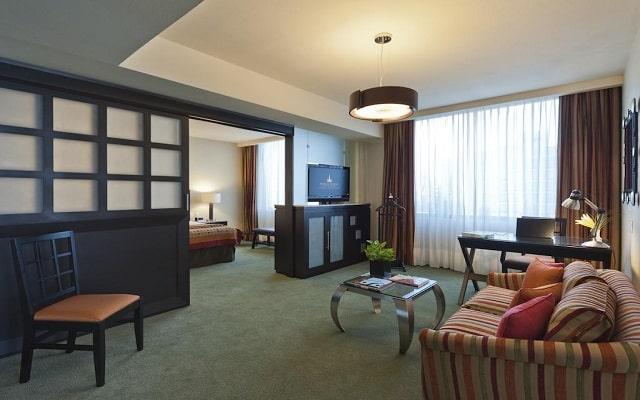 Hotel Marquis Reforma, espacios acondicionados para tu confort