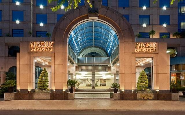 Hotel Marquis Reforma, buena ubicación