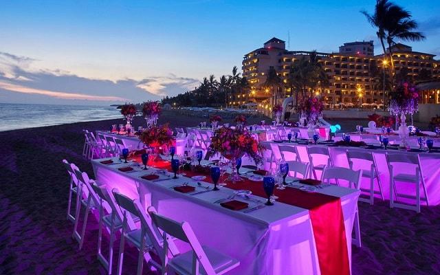 Hotel Marriott Puerto Vallarta Resort & Spa, facilidades nupciales