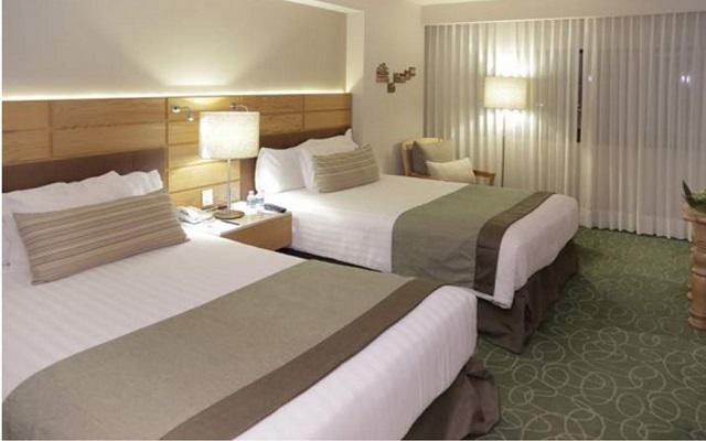 Hotel Marriott Tuxtla Gutiérrez, habitaciones bien equipadas
