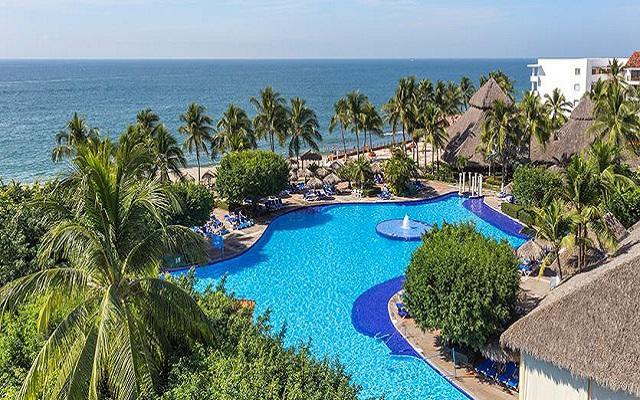 Hotel Meliá Puerto Vallarta All Inclusive, hermosa vista aérea
