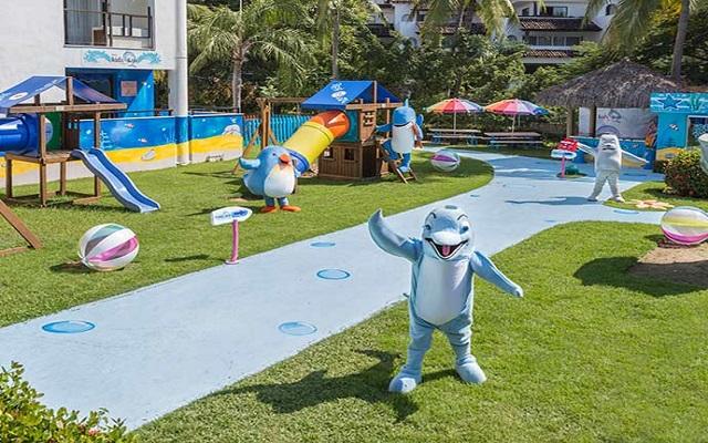 Hotel Meliá Puerto Vallarta All Inclusive, área de juegos para niños