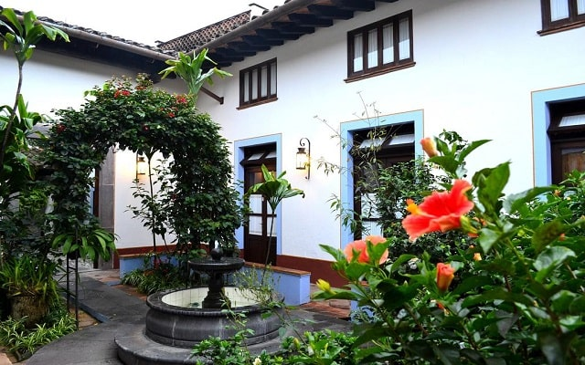 Hotel Mesón del Alférez Coatepec, arquitectura colonial