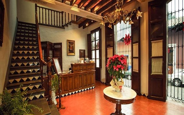 Hotel Mesón del Alférez Coatepec, atención personalizada desde el inicio de tu estancia