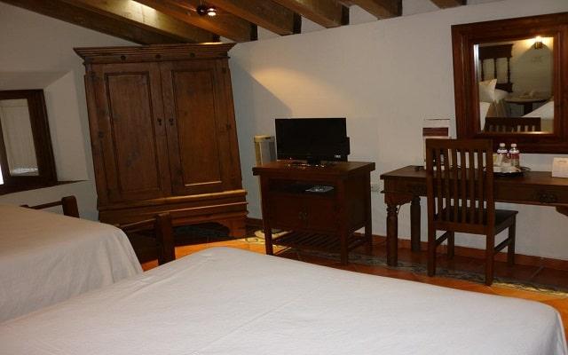 Hotel Mesón del Alférez Coatepec, habitaciones bien equipadas