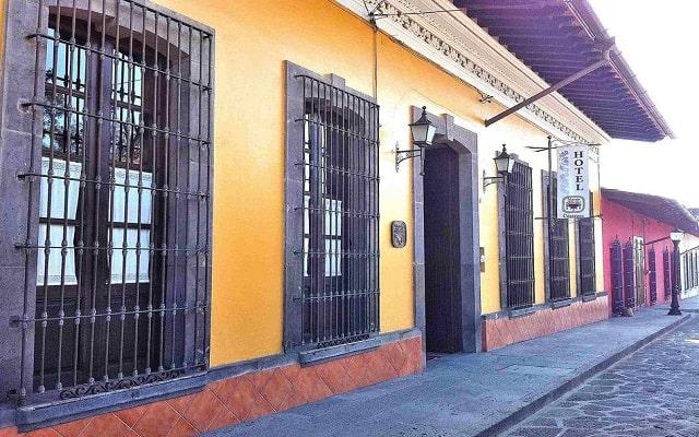 Hotel Mesón del Alférez Coatepec en Xalapa