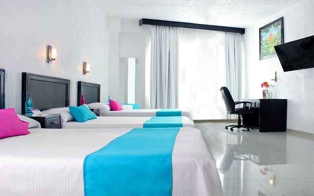 Hotel Mia City Villahermosa, amplias y luminosas habitaciones