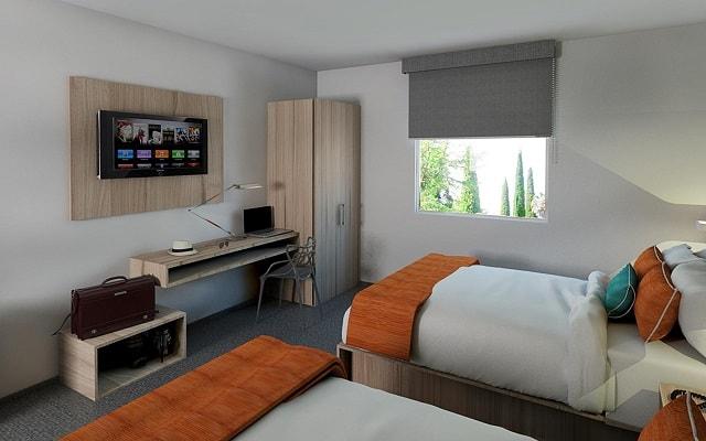 Hotel Misión Express Durango, habitaciones bien equipadas