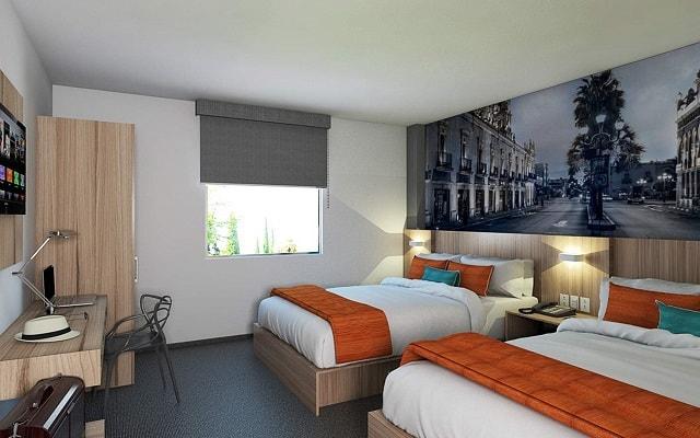 Hotel Misión Express Durango, habitaciones cómodas y acogedoras