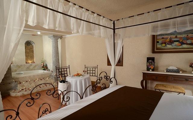 Hotel Misión Arcángel Puebla, habitaciones bien equipadas