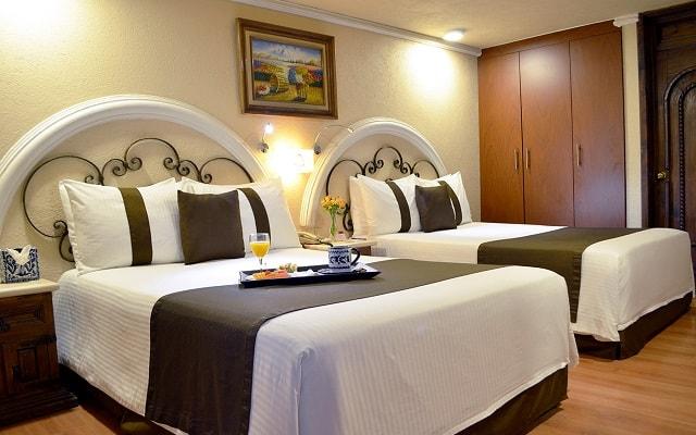 Hotel Misión Arcángel Puebla, disfruta de la privacidad de tu habitación con el mejor servicio