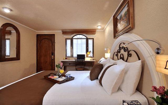 Hotel Misión Arcángel Puebla, ofrece cómodas y acogedoras habitaciones