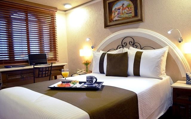 Hotel Misión Arcángel Puebla, espacios acondicionados para tu descanso