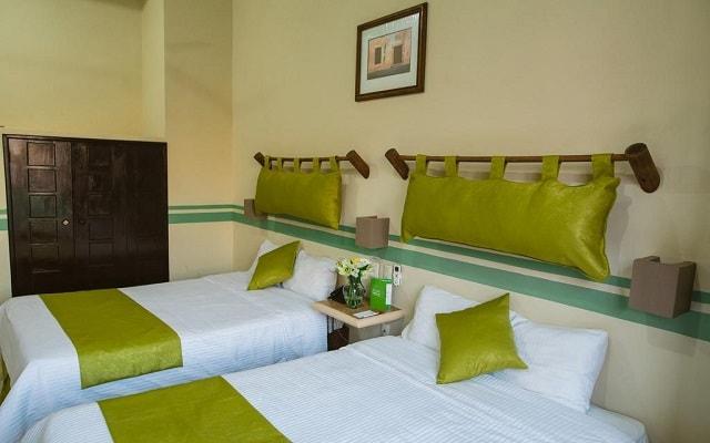 Hotel Misión Campeche América Centro Histórico, amplias y luminosas habitaciones