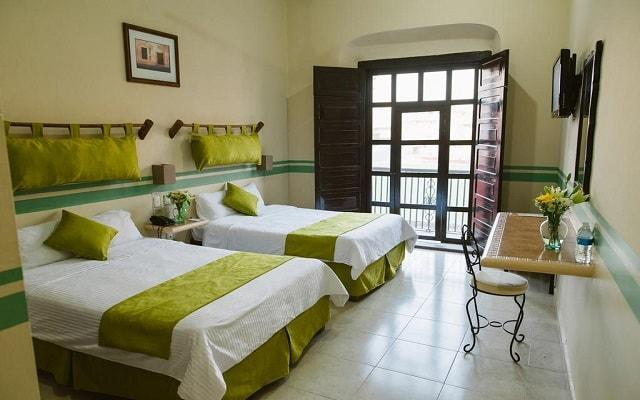 Hotel Misión Campeche América Centro Histórico, habitaciones bien equipadas