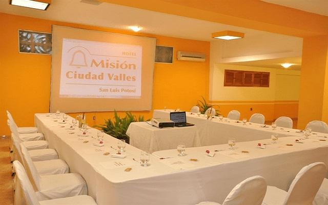 Hotel Misión Ciudad Valles, sala de juntas