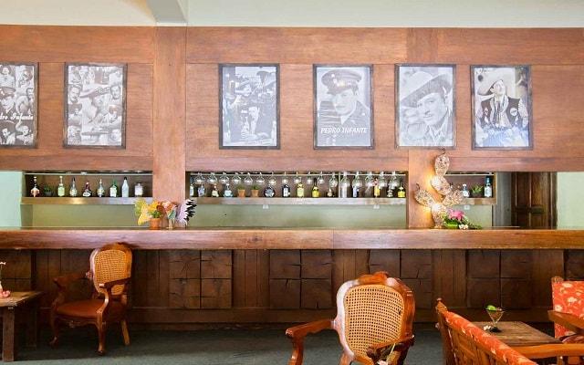 Hotel Misión Comanjilla, Bar Las Caldas