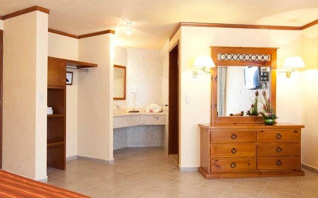 Hotel Misión Comanjilla, habitaciones bien equipadas