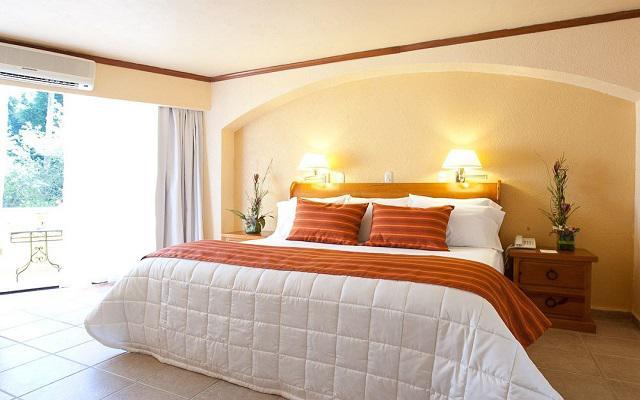 Hotel Misión Comanjilla, habitaciones con vista al jardín