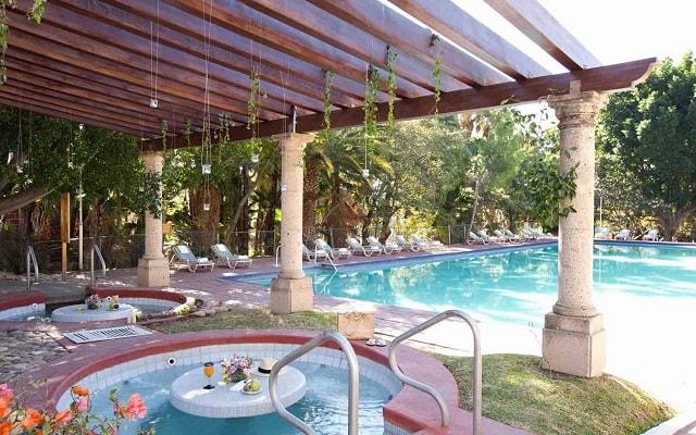 Hotel Misión Comanjilla, relájate en el jacuzzi