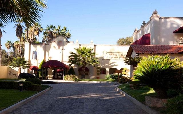 Hotel Misión Comanjilla, pasea por los jardines