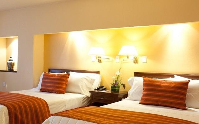 Hotel Misión Comanjilla, descansa en la comodidad de tu habitación