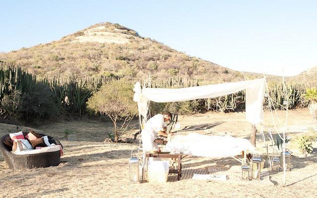 Hotel Misión Comanjilla, servicios de spa al aire libre