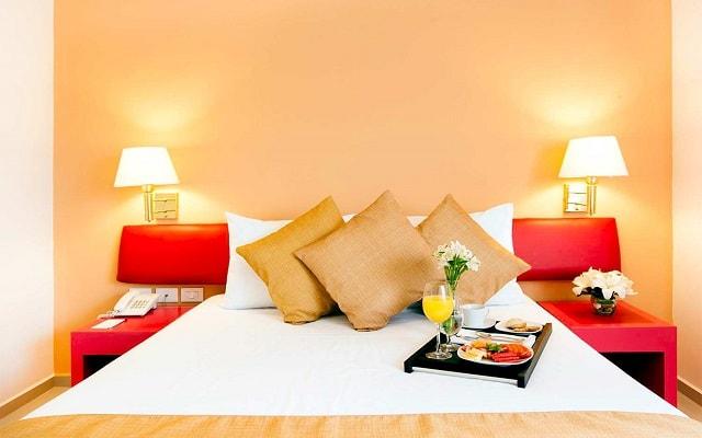 Hotel Misión Mérida Express Altabrisa, habitaciones con todas las amenidades
